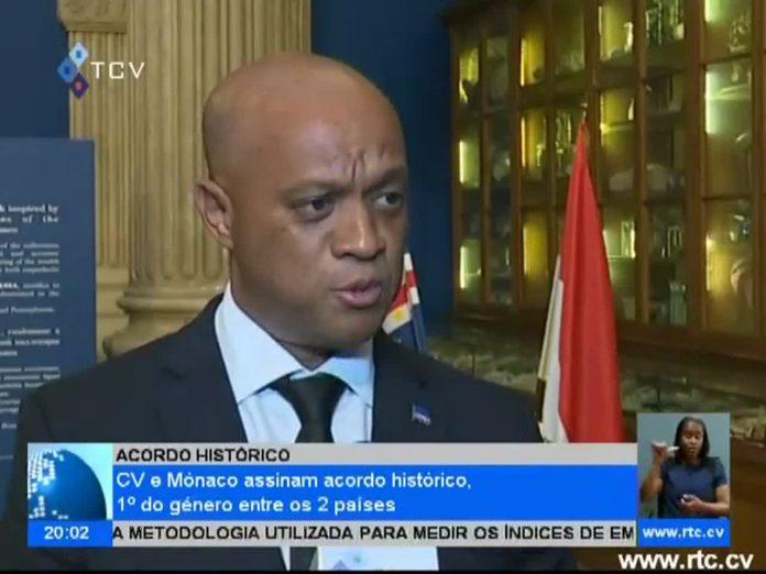 Cabo Verde e Mónaco assinam acordo histórico 1º do géneero entre os 2 países…