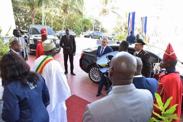 o Presidente da República e a sua delegação foram recebidos, esta quinta-feira, 26, na…