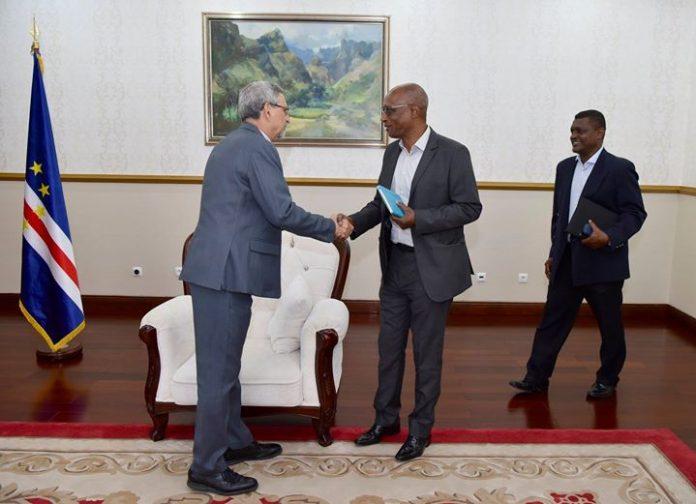 11 | MAIO | 2018 O Presidente da Federação Cabo-verdiana de Futebol (FCF), Mário…