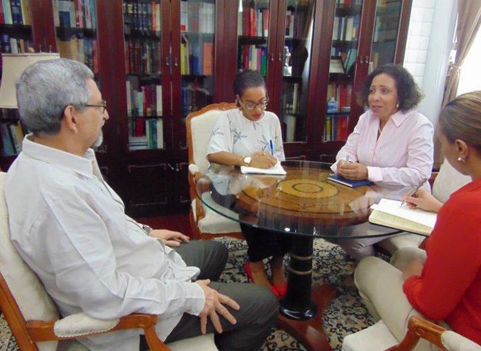 o Presidente da República recebeu, na manhã de hoje, 25 de Maio, a Bastonária…