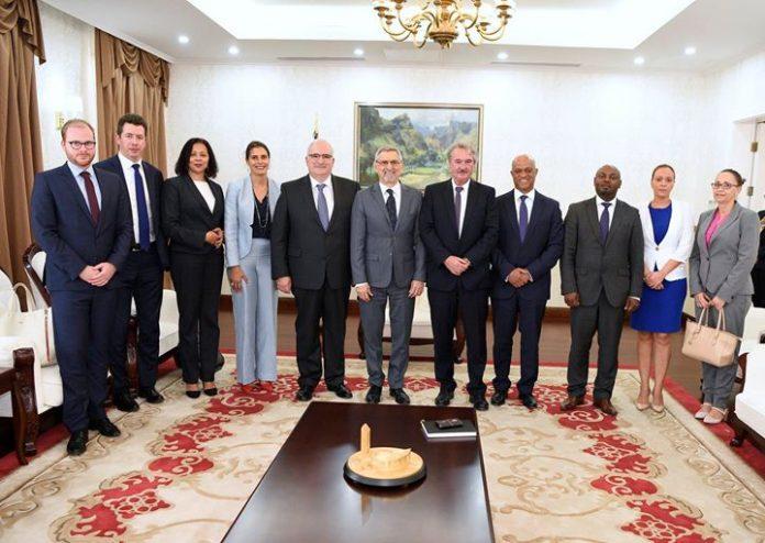O Presidente da República recebeu, esta tarde, 30, em visita de cortesia, o Ministro…
