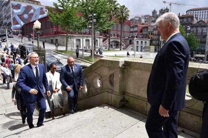 """Intervenção de o Presidente da República, Jorge Carlos Fonseca, na conferência, """"Em Português nos…"""