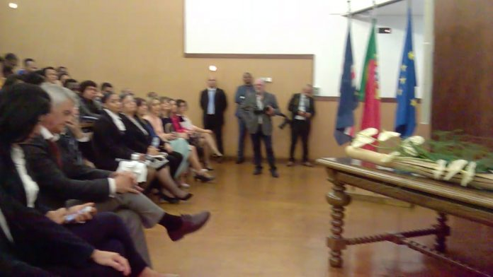 o Presidente da República em encontro com alunos cabo-verdianos e dos PALOP, no dia…