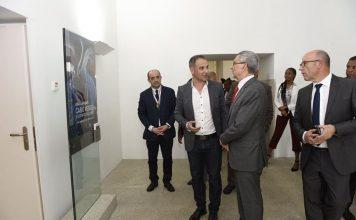 Visita à exposição sobre Cabo Verde, da pintora Graça Morais, dia 2 de Junho,…