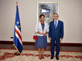 07   MAIO   2018 – Presidente da República recebe cartas credenciais da nova…