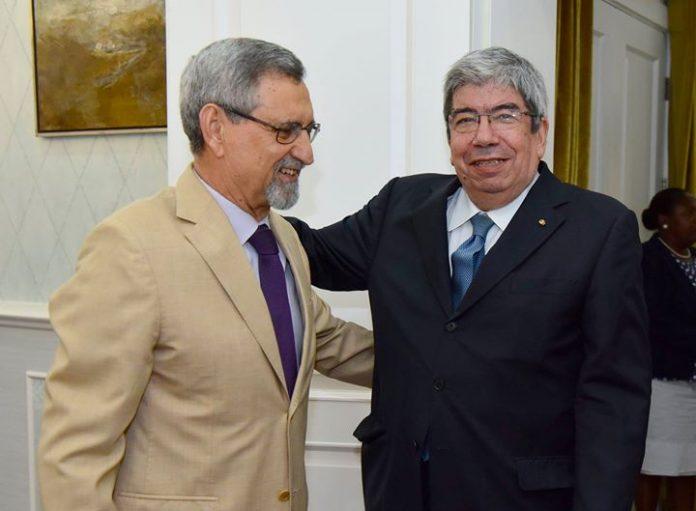 o Presidente da República recebeu, esta terça-feira 6, em visita de cortesia, uma delegação…