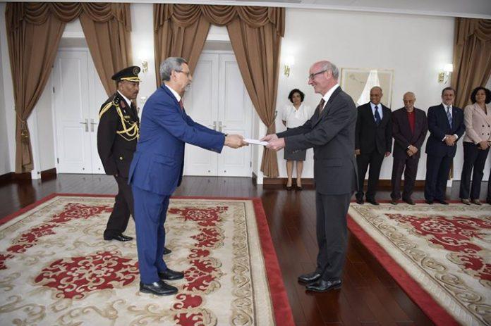 22 /FEVEREIRO /18 – Apresentação de cartas credenciais pelo Embaixador da Àustria, Senhor Robert…