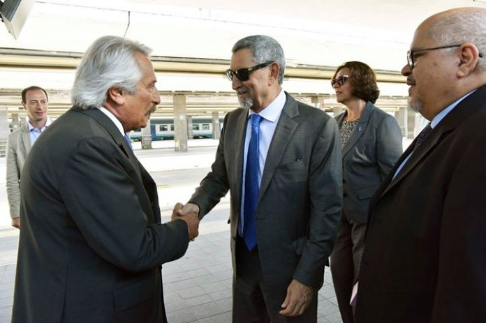 Presidente da República e comitiva recebidos em Nápoles O Presidente da República e comitiva…