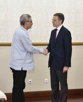 Presidente da República recebe o Presidente da RTP, Dr. Gonçalo Reis Acompanhado do Director…