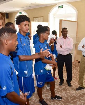 Presidente da República recebe Seleção Nacional de Futebol Sub-16 O Presidente Jorge Carlos Fonseca…