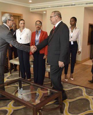 Presidente da República recebe uma delegação da Confederação dos Empresários da CPLP. A confederação…