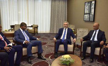 Presidente da República recebe Presidente angolano em encontro bilateral O Presidente Jorge Carlos Fonseca…