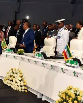 Presidente da República, Jorge Carlos Fonseca, na Cimeira conjunta CEDEAO-CEEAC, Lomé, 30 de Julho…