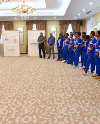 Presidente da República recebe as comitivas que representaram Cabo Verde nos Jogos da CPLP…