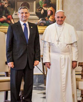 Mensagem do Presidente da República à Sua Santidade, o Papa Francisco, a propósito de…