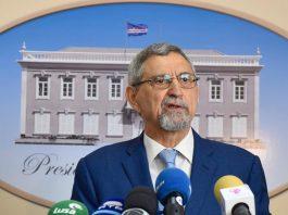 Comunicação de o Presidente da República, Jorge Carlos de Almeida Fonseca sobre o Acordo…