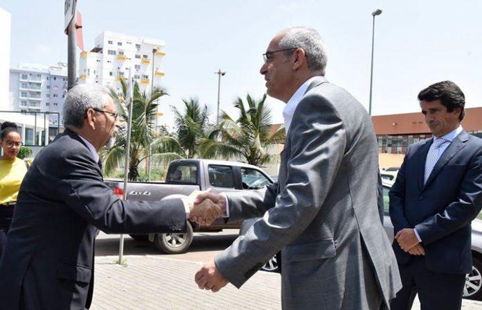 Presidente da República visitou a empresa Garantia Seguros, no dia 4 de Outubro