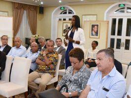 Presidente da República encontra-se com os comerciantes da cidade da Praia, 10 de Outubro…