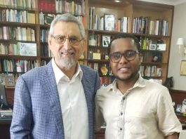 Presidente da República recebe, em visita de cortesia, o cientista cabo-verdiano Jailson Brito Querido…