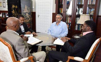 Presidente da República recebe o Presidente da Federação Cabo-verdiana de Futebol (FCF), Dr. Mário…
