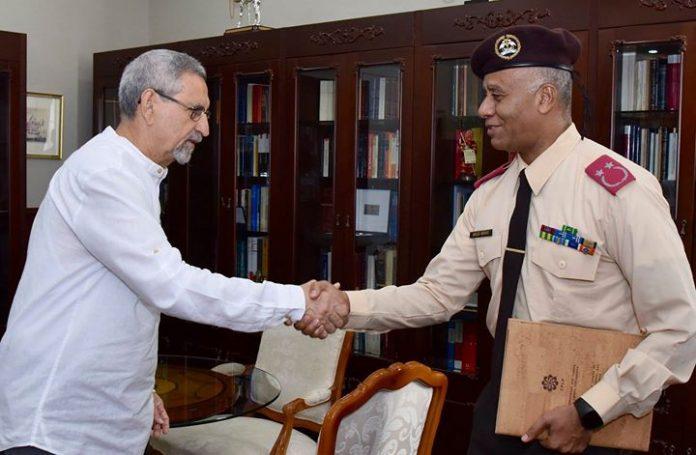 Presidente da República recebe o Chefe do Estado Maior das Forças Armadas O Presidente…