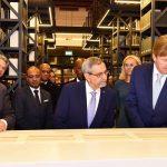 Presidente da República participa na mesa redonda sobre Economia Azul, com a presença de…