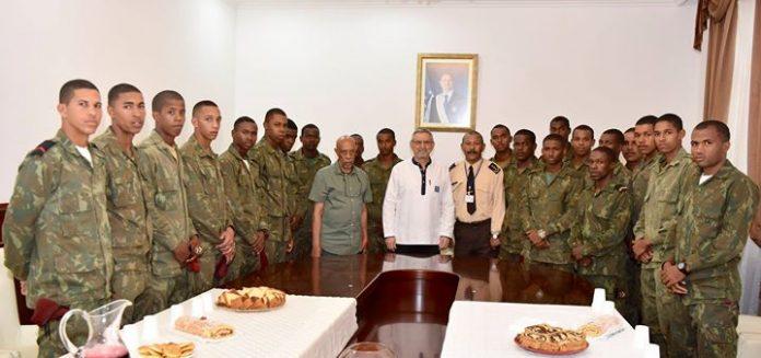 O Presidente da República e Comandante Supremo das Forças Armadas esteve reunido com os…