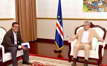 Presidente da República recebe a direção da Associação Sindical dos Jornalistas de Cabo Verde…