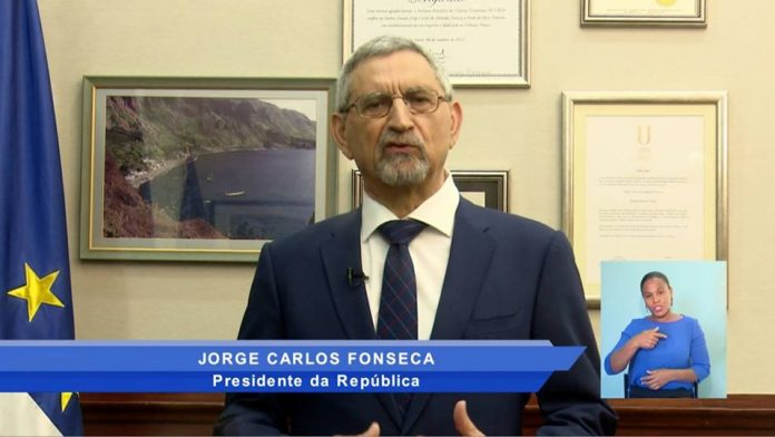 Mensagem de Ano Novo proferido por o Presidente da República, Dr. Jorge Carlos Fonseca,…