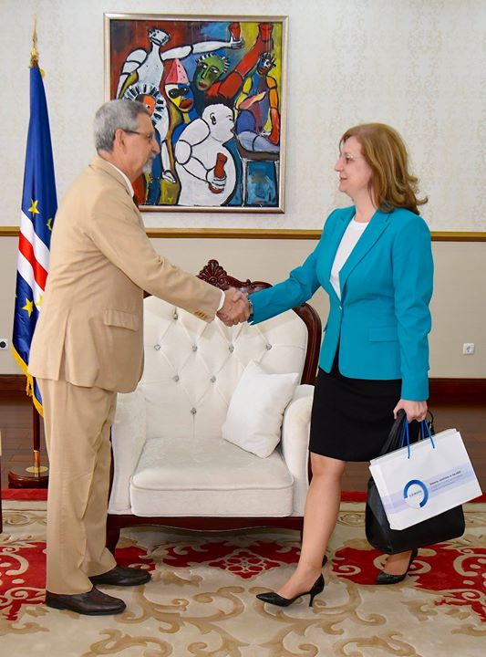 Presidente da República recebe enviada especial do Presidente da Roménia, 25 de Fevereiro de…