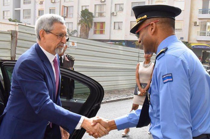 Presidente da República visita as novas instalações da Polícia Nacional (PN) e o Centro…