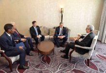 O Presidente da República recebeu em audiência o Secretário-geral da Organização Mundial do Turismo,…