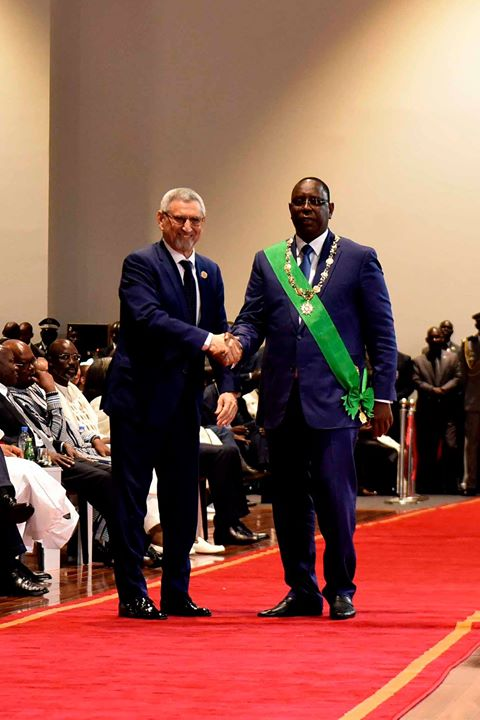 Presidente da República participa na cerimónia de tomada de posse do Presidente da República…