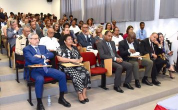 Palestra do Prof. Doutor José Vicente, Reitor da Faculdade Zumbi dos Palmares, proferida no…