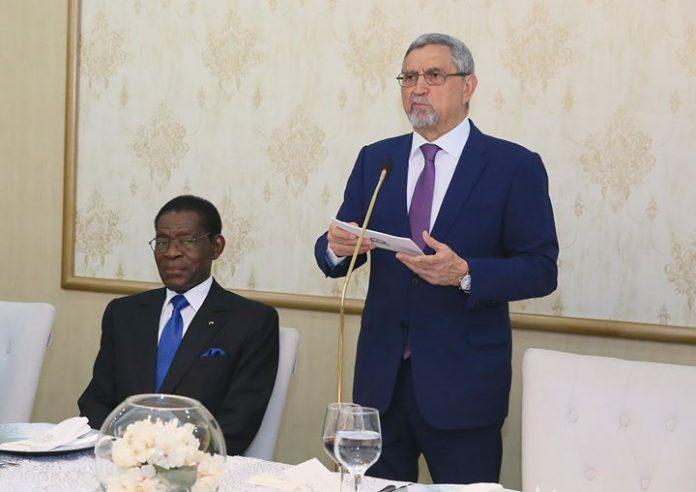 Toast proferido por Sua Excelência Carlos de Almeida Fonseca, Presidente da República de Cabo…