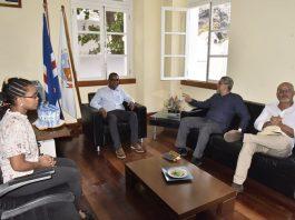 O Presidente Jorge Carlos Fonseca visitou algumas empresas no Vale do Paul, na área…