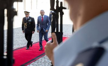 O Presidente da República foi recebido, dia 18, pelo seu homólogo italiado, Sérgio Mattarella,…