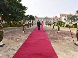 Presidente da República recebe Cartas Credenciais pelo Embaixador da Nam…