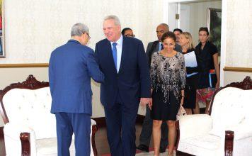 O Presidente da República recebeu, na manhã de Domingo, 06, a vis…