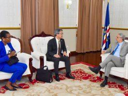 Presidente da República recebe visita de cortesia do Embaixador do Jap&a…