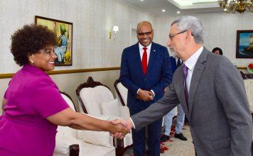 Presidente da República recebeu visita de cortesia da Ministra de Estado…