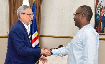Presidente da República recebe, em audiência o Presidente eleito d…