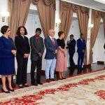 Cumprimentos de Boas Festas ao presidente da Assembleia Nacional e delega&ccedi…