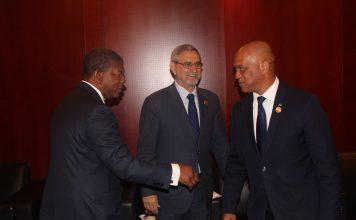 Encontro entre o Presidente de Cabo Verde, Jorge Carlos Fonseca, e o Presidente…