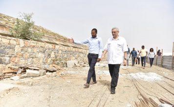 No Segundo dia da sua visita oficial à ilha do Maio, o Presidente da Rep…