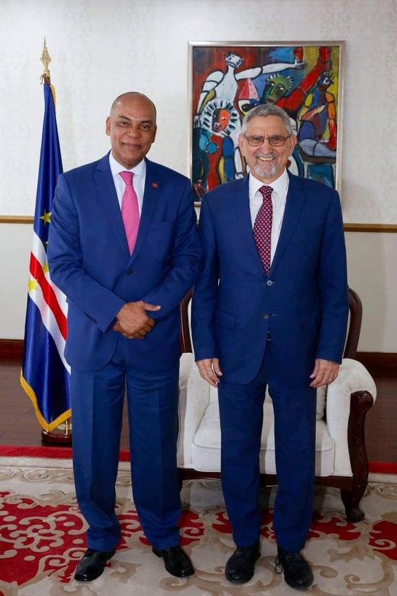 Presidente da República recebe visita de cortesia do novo Presidente da …