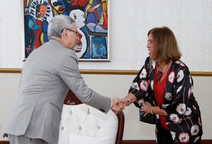 Presidente da República recebe a Coordenadora Residente das Naç&o…