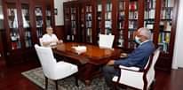 Presidente da República recebeu o Presidente da Assembleia Nacional, Eng. Jorge Sant…