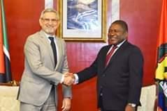 Mensagem de felicitações do Presidente da República de Cabo Verde e Presidente em ex…
