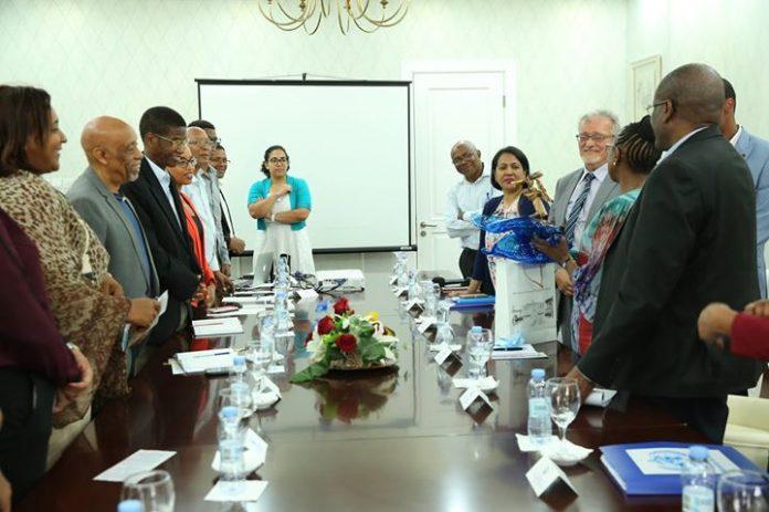 22 | JUNHO | 2018 – Encontro da Directora Regional da OMS, Dra. Matshibo…
